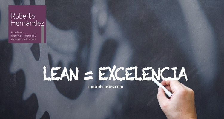 lean y excelencia CONTROL-COSTES