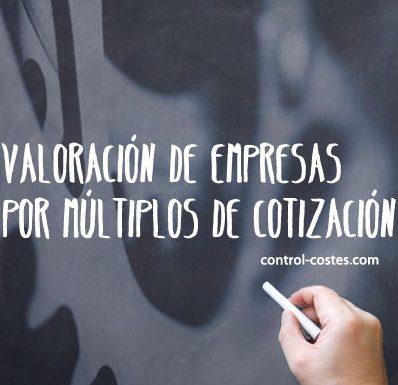 ¿En qué consiste la valoración de empresas por múltiplos de cotización?